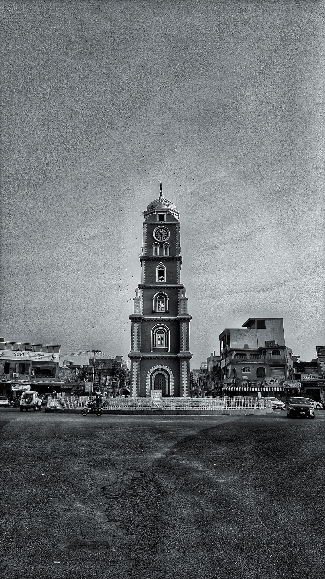 Sialkot Ghanta Ghar -Sialkot Clock Tower by Omayer Emghad