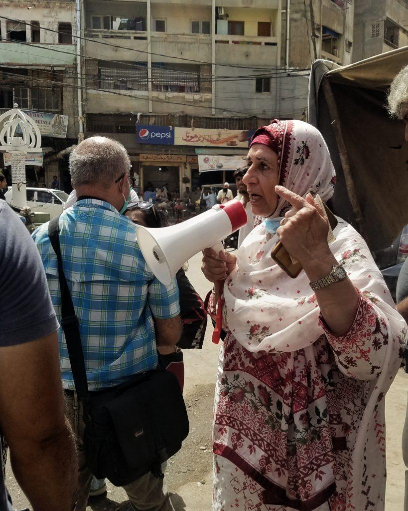 Shaheen Nauman with Tour De Karachi on Photowalk